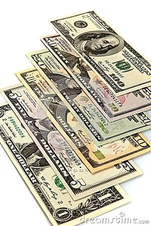 Dinero en circulación de los E.E.U.U.