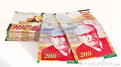 Dinero en circulación israelí