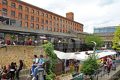 Dingwalls in Camden Town, London, United Kingdom Editorial Stock Image