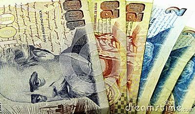 Dinheiro de Argentina