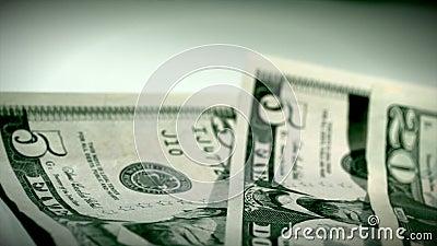 Dinheiro do dólar que passa perto filme