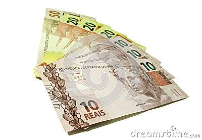 Dinheiro - real - Brasil