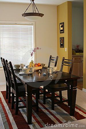 Free Dining Room Stock Image - 523471