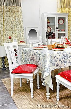 Dining room angle