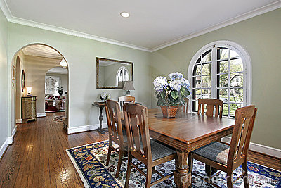Image gallery light green walls for Light green dining room