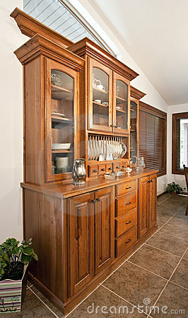 Dining Room Hutch Buffet Stock Photos - Image: 9931783