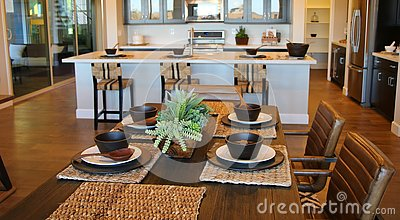 luxury dining room formal table setting stock images image 5385124
