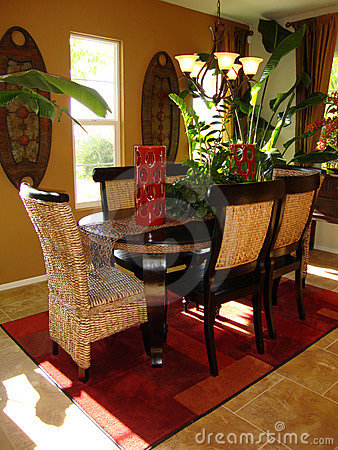 Dining Room Tropical
