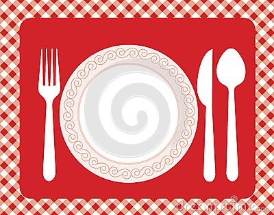 dinner invitation menu stock photo image 24936670 lunch clipart girl lunch clipart holiday