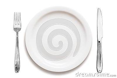 Dinner plate arrangement