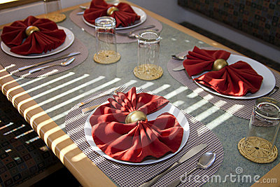Dinner Plate Table Place Setting