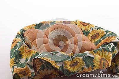 Dinner Rolls in a Basket 2