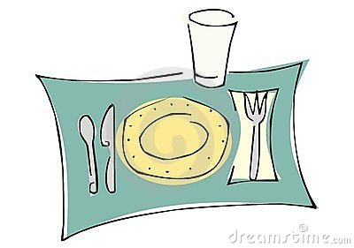 Dinner Set Royalty Free Stock Images - Image: 11047679