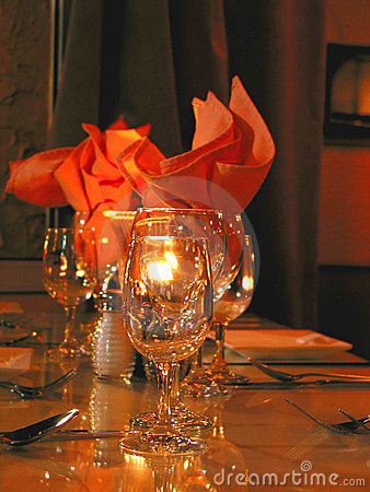 Free Dinner Table Setting Stock Photos - 357643