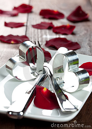 Dinner For Valentines Day Stock Photography Image 17123182