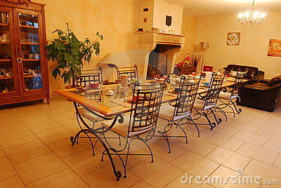 Dinning Room Royalty Free Stock Photos - Image: 24223398