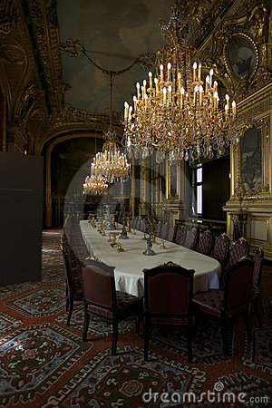 Dinning room at Louvre