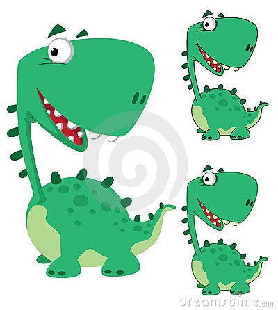 Dino cartoon funny