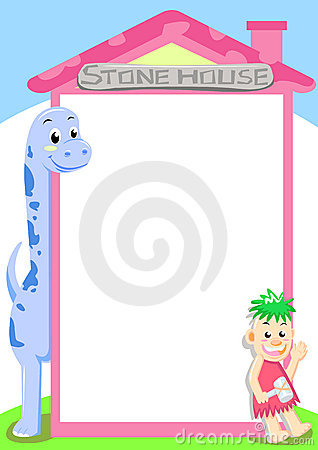 Free Dino Stone House Royalty Free Stock Photo - 16243685