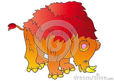 Dinosaur Brontoterio
