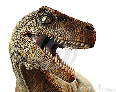 Dinosaur Closeup Editorial Stock Photo