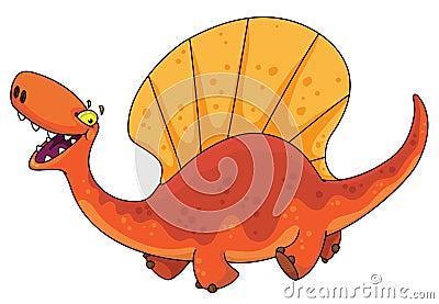 Dinosaur dimetrodon