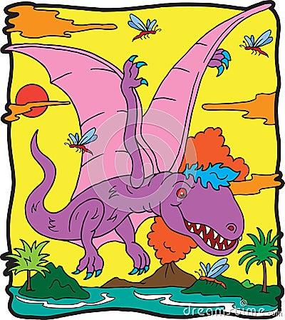 Dinosaur Dimorphodon