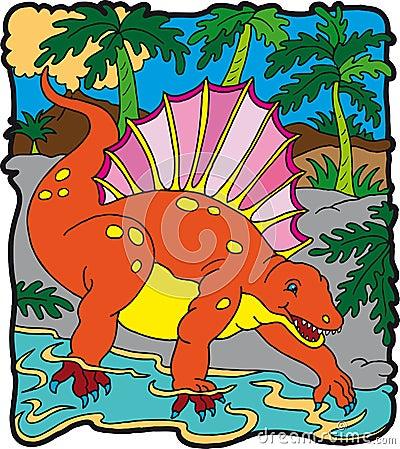 Dinosaur Edafosauro