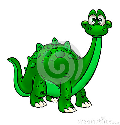 Dinosaur Funny  cartoon animal