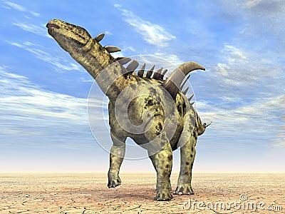 Dinosaur Gigantspinosaurus