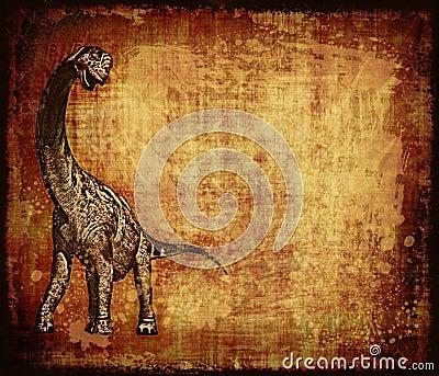 Dinosaur Grunge Parchment