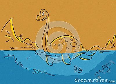 Dinosaur plesiosaur