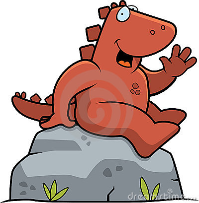 Dinosaur Sitting