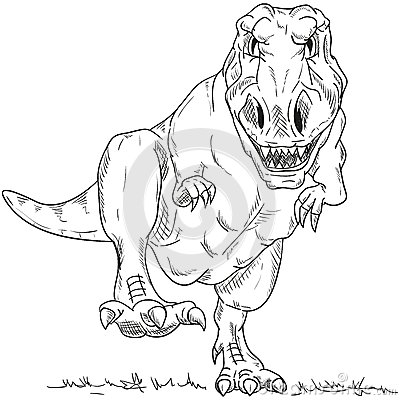dinosaur stock illustration - image: 45905608