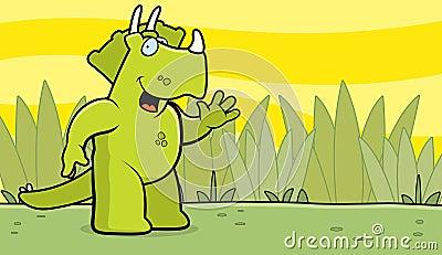 Dinosaur Waving