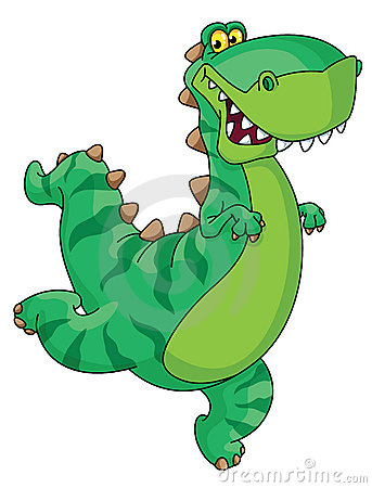 Dinosaurio de la prisa