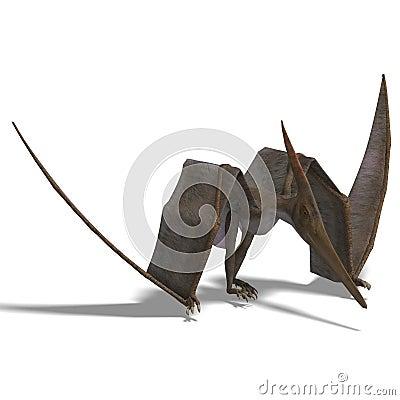 Dinosaurio Pteranodon