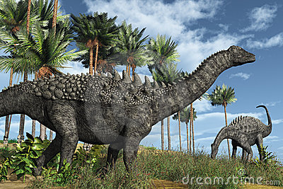Dinosaurios de Ampelosaurus
