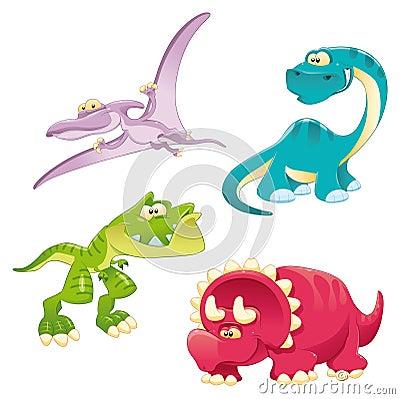 Free Dinosaurs Family Stock Photography - 14241532