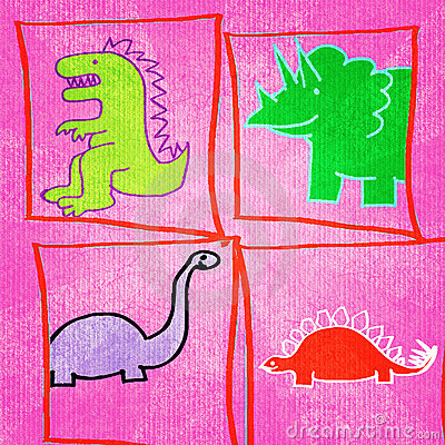 Dinosaurs! Illustration