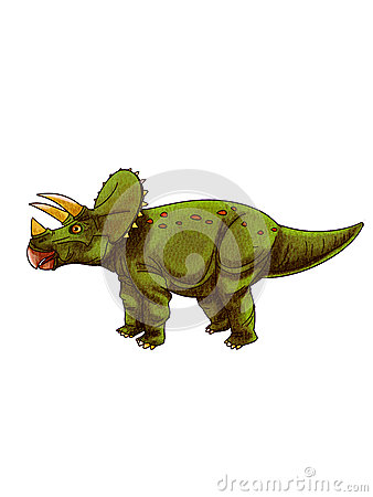 Dinosaurs:triceratops