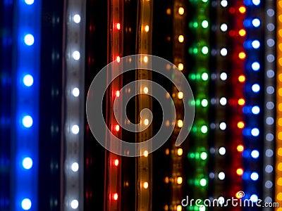 Diode arrays closeup