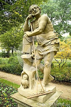 Diogenes preguiçoso