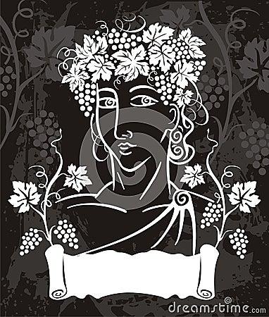 Free Dionysus Logotype Stock Images - 3470934