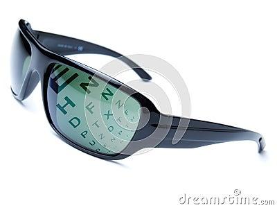 Dioptric sunglasses