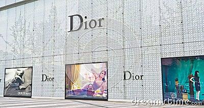 Dior Editorial Image