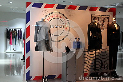 Dior design Editorial Stock Image
