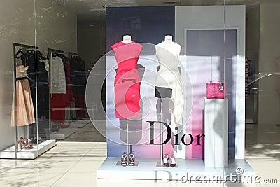 Dior fashion store in Romania