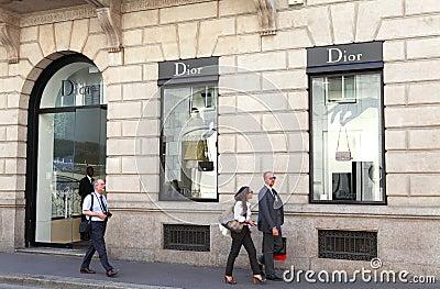Dior store Editorial Image