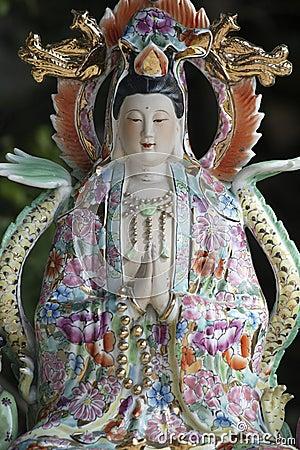 Diosa china de la madre